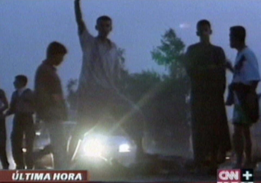 IRAK-ATAQUE CONTRA AGENTES ESPAÑOLES